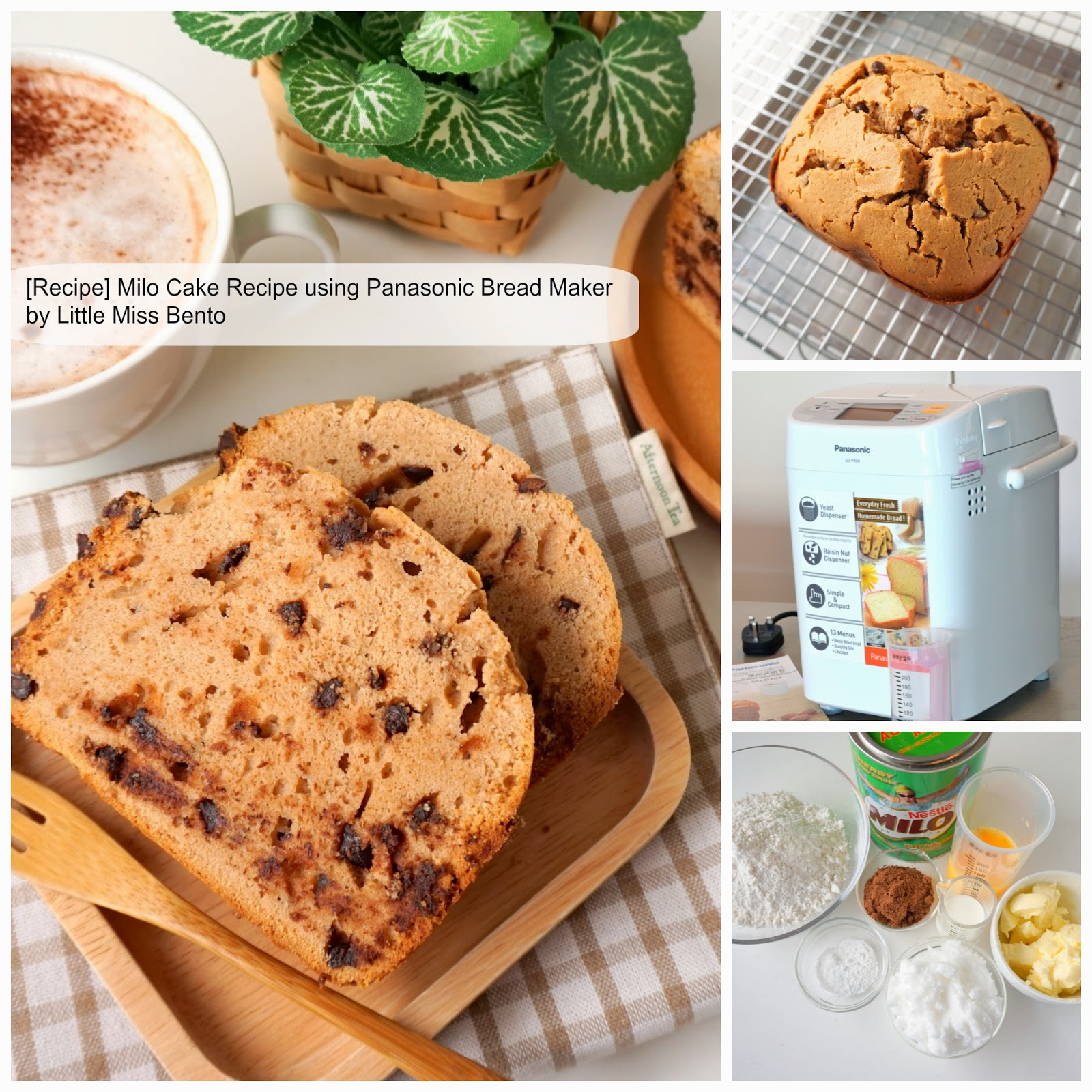 Panasonic Bread Maker Chocolate Cake Recipe