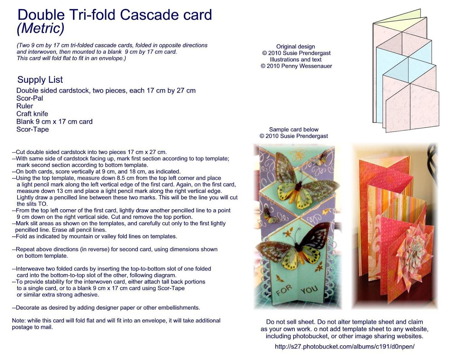 Double tri shutter card