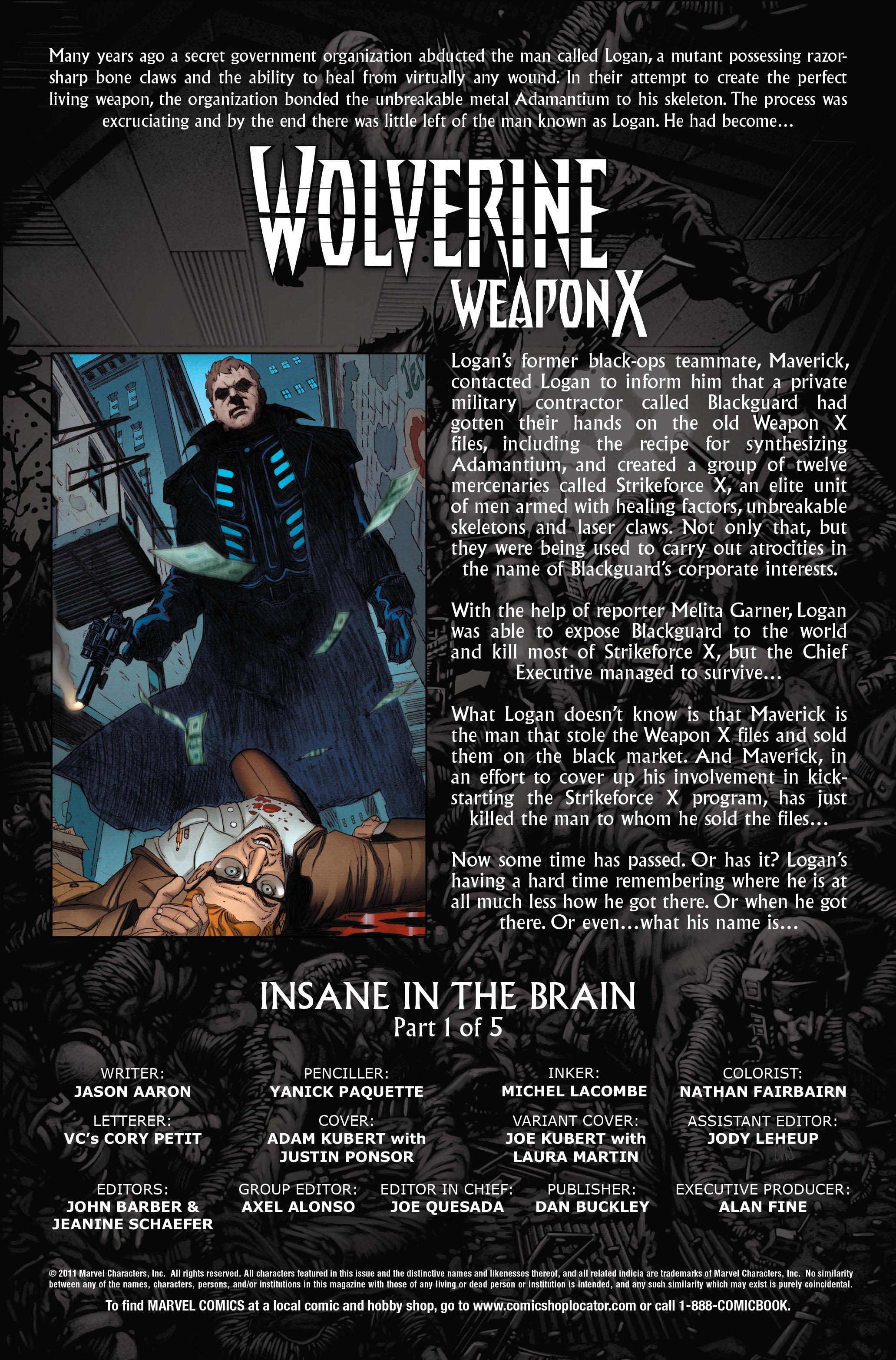 Wolverine: Weapon X #6 #11 - English 2
