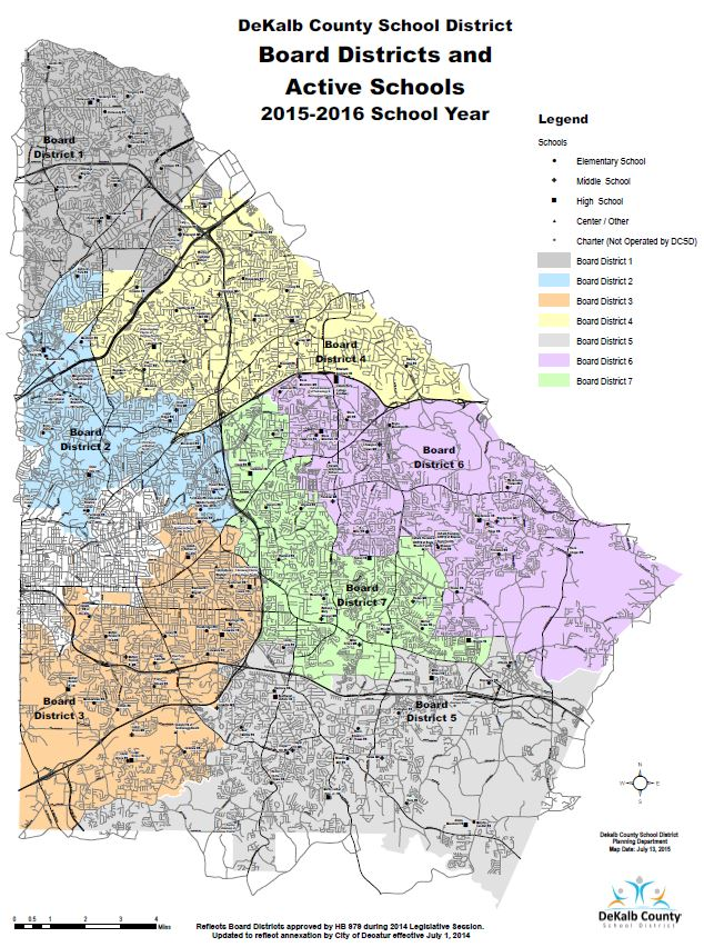 Dunwoody School Daze Guest Post A Case for Redistricting