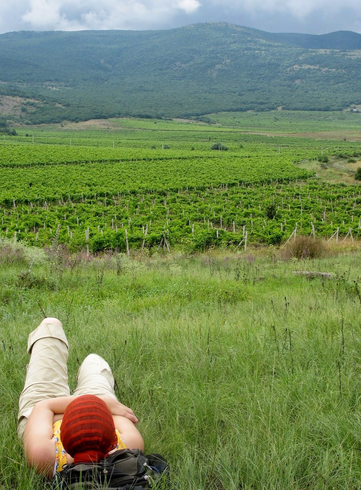 Krym: wina i góry