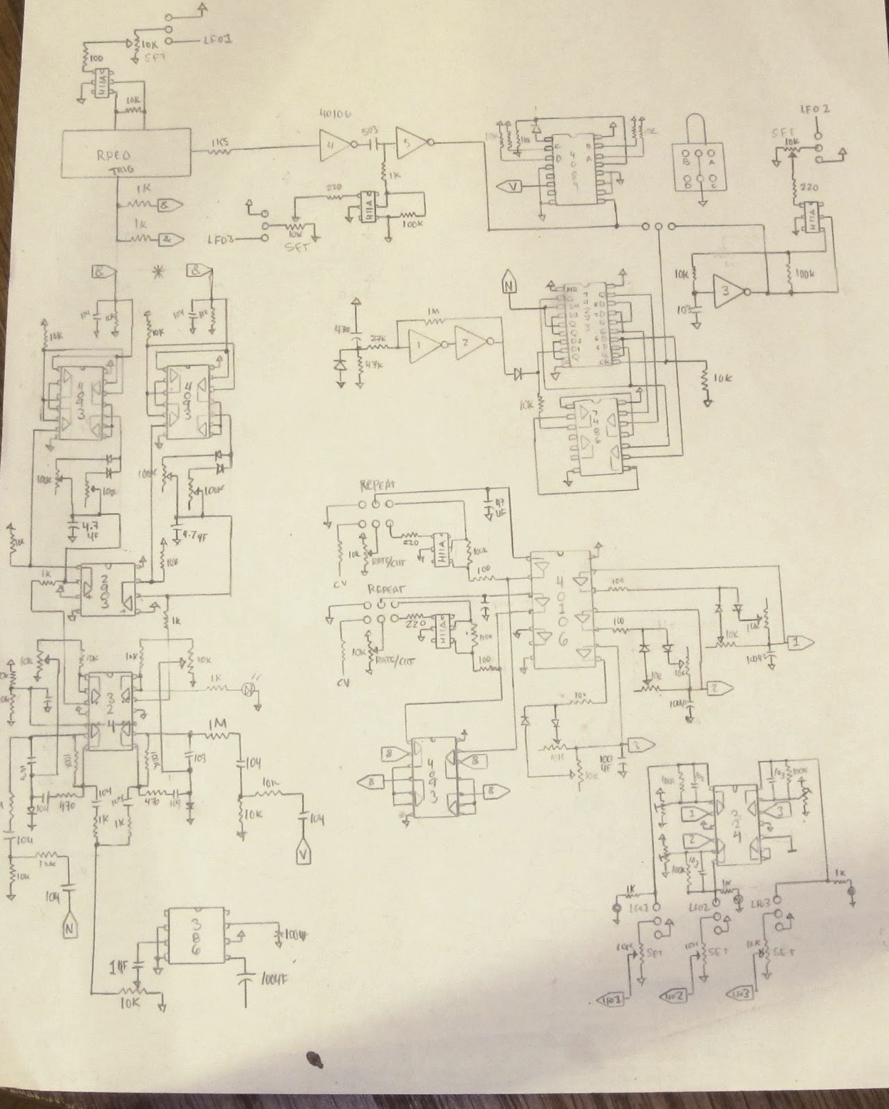 Noystoise2018 Noise High Frequency Generator Schematic Lower 8 Keysf3 C4 For The Missing 8f5 C6 It Makes Things A Little Confused But Sounds Much Better When Its Tracking Keys