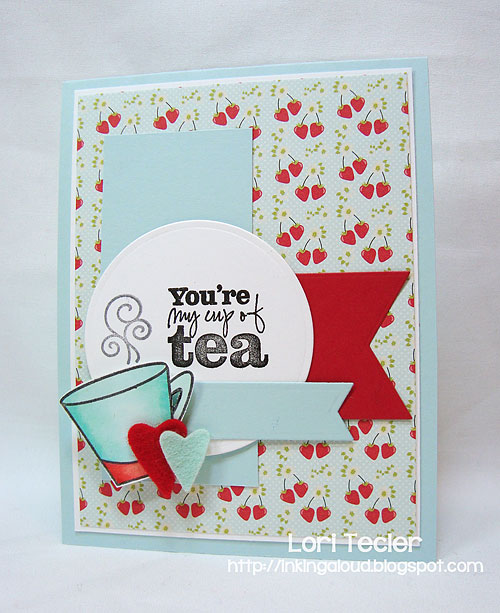My Cup of Tea-designed by Lori Tecler-Inking Aloud-stamps from Verve Stamps