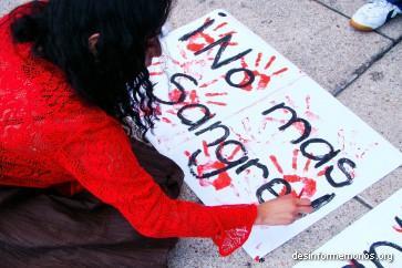 Violencia contra la mujer en La Paz