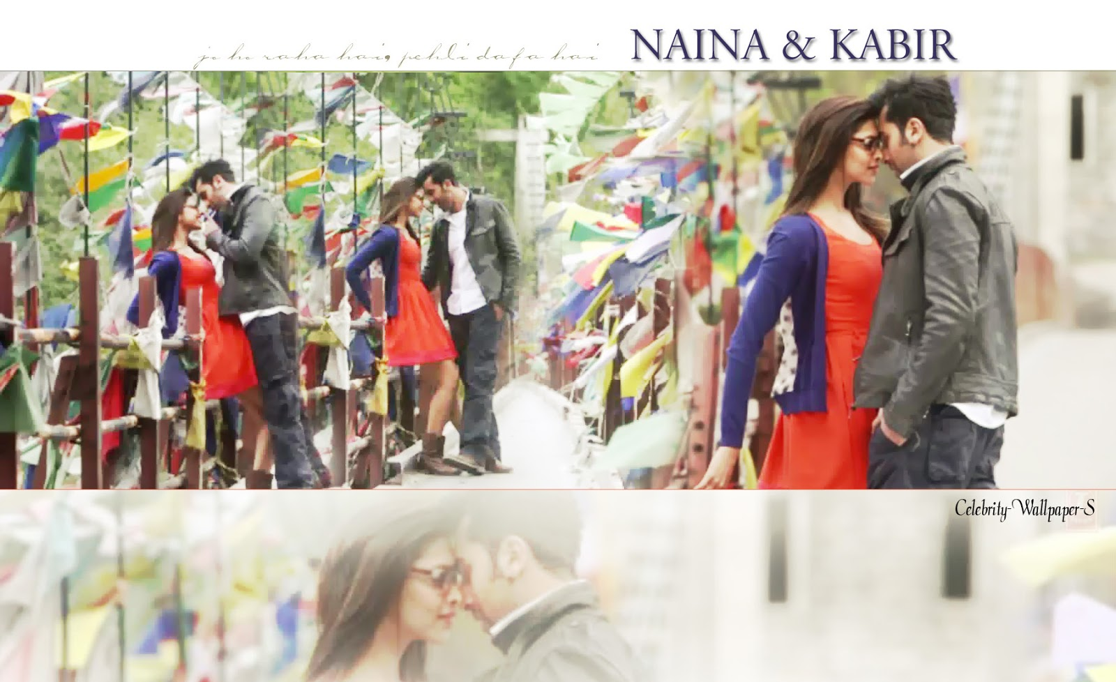 Ranbir Kapoor Deepika Padukone Wallpaper HD yeh jawani hai ...
