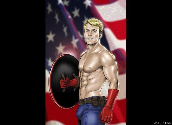 super sexy male superheros