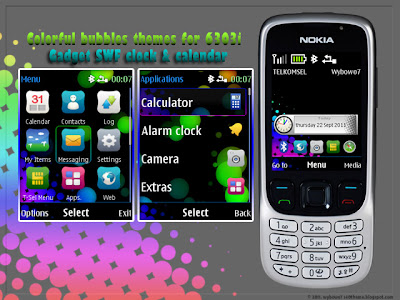 colorful bubbles for nokia 6303i classic