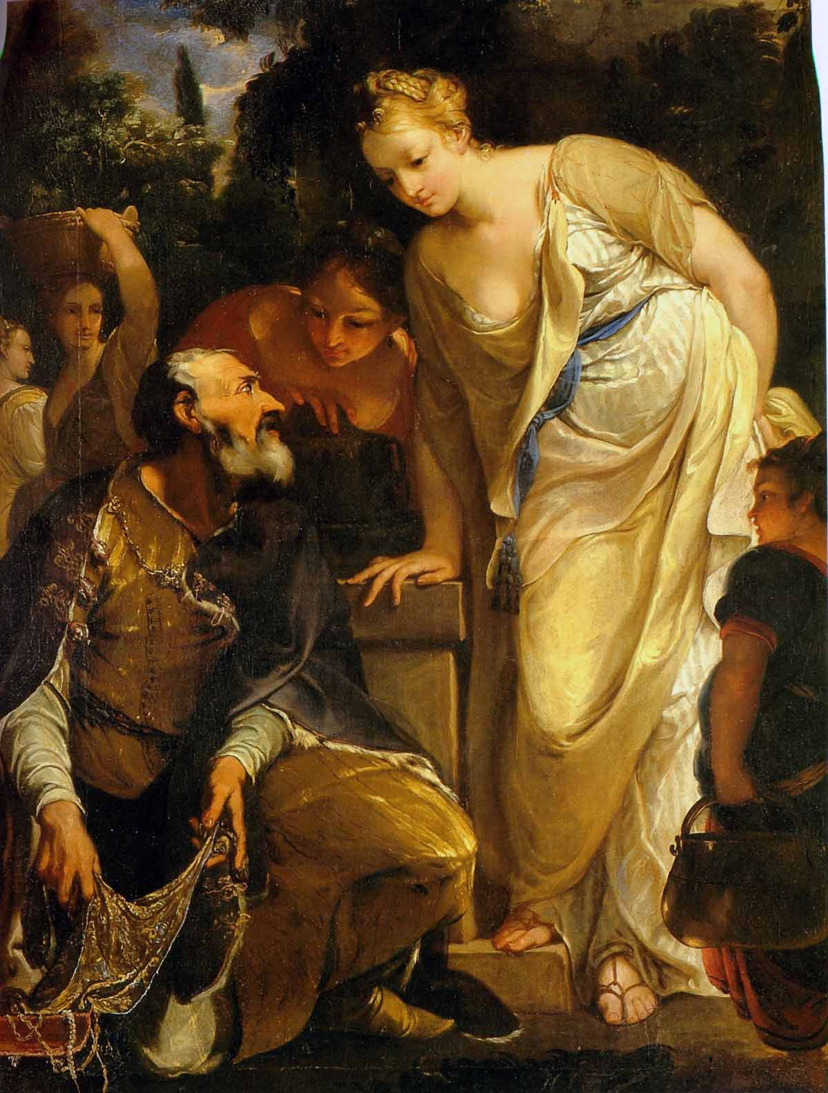 Rebecca at the Well, Antonio Bellucci cir. 1700