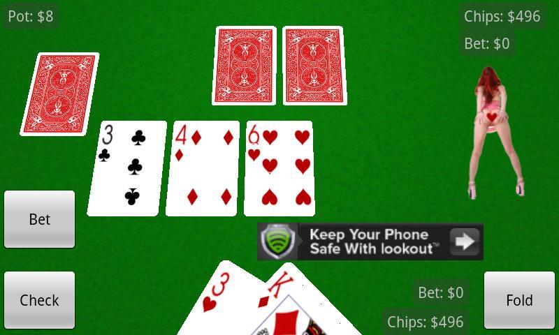 Strip poker holdem free