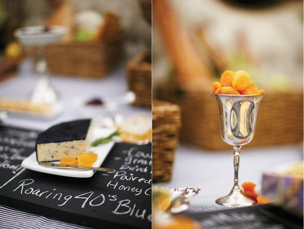 detalles de tabla de quesos