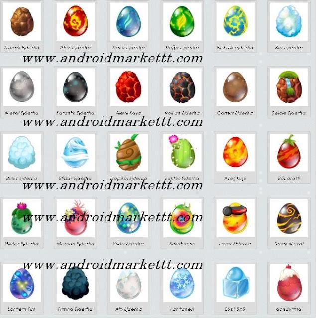 Dragon City Ejderha Yumurtaları