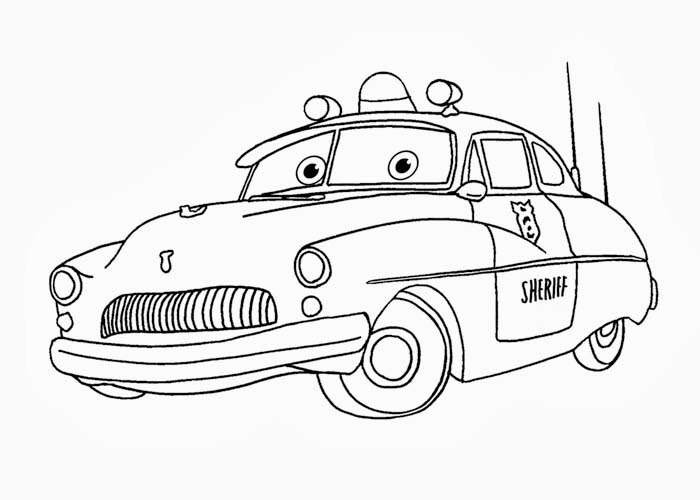 sheriff coloring pages - photo#16