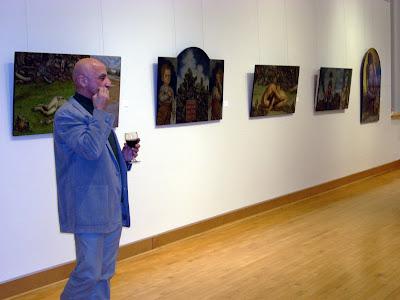 Prof. Chawky Frenn at BlackRock Arts Center