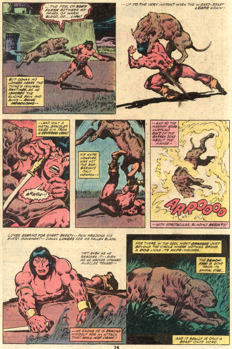 Conan the Barbarian (1970) Issue #114 #126 - English 16