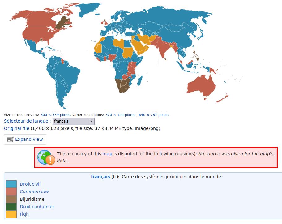http://commons.wikimedia.org/wiki/File:LegalSystemsOfTheWorldMap.png