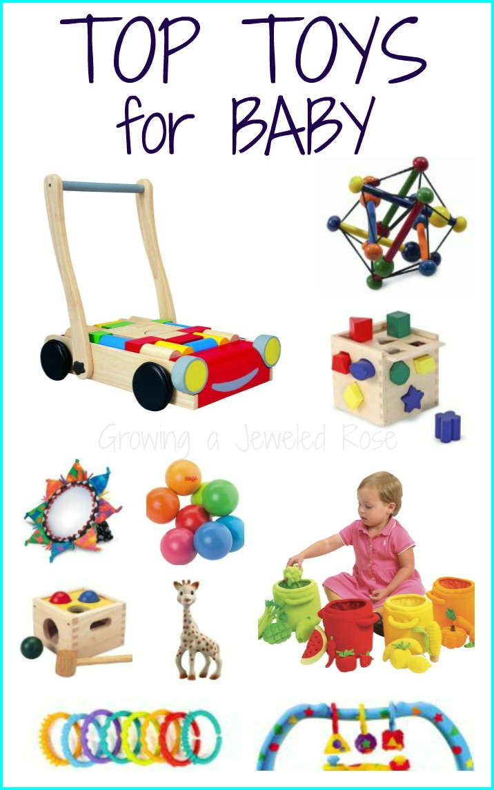 Best Toys For Newborns : Top toys for babies growing a jeweled rose