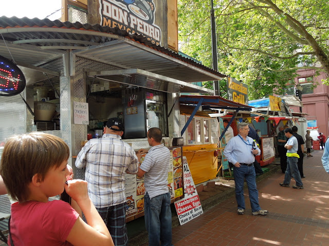 After the family event, we headed downtown for lunch. Portland's known ...