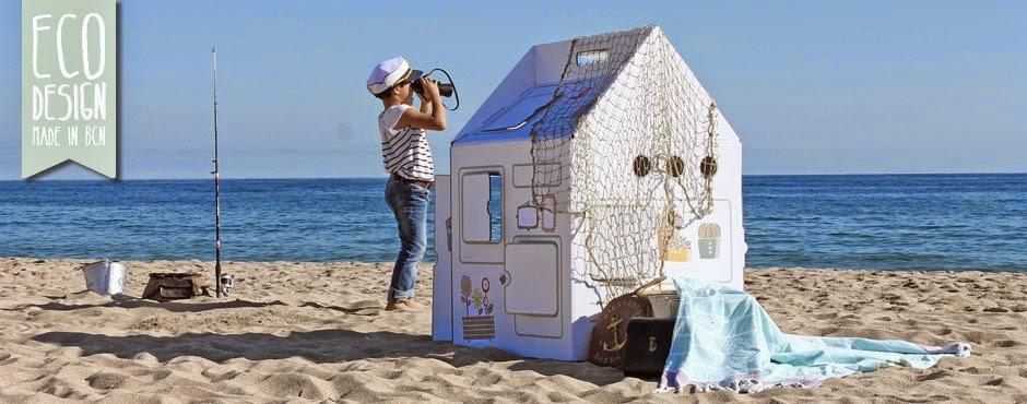 This Is Karton, Casitas de muñecas reciclables