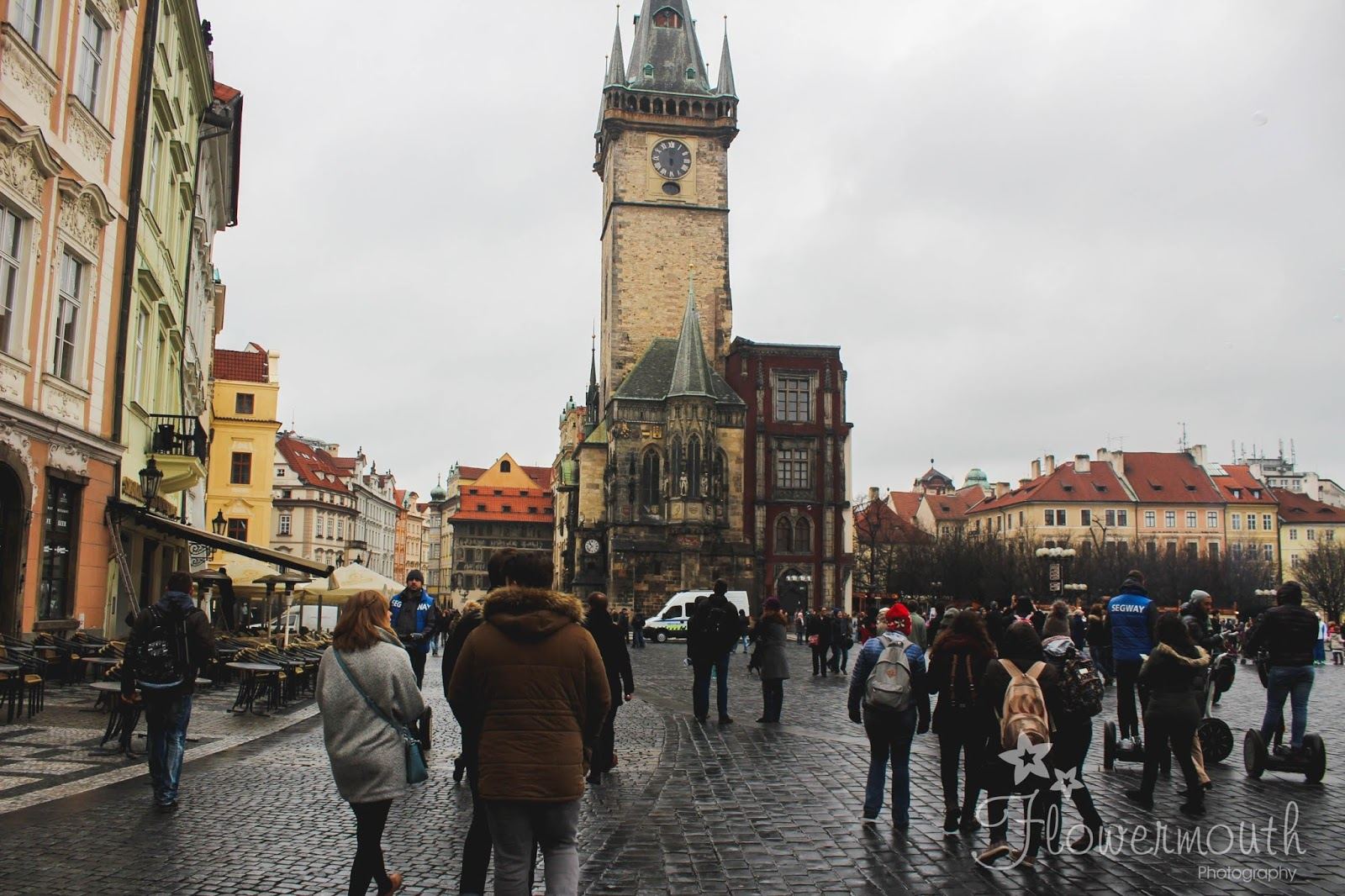 Astronomical clock in Prague city square