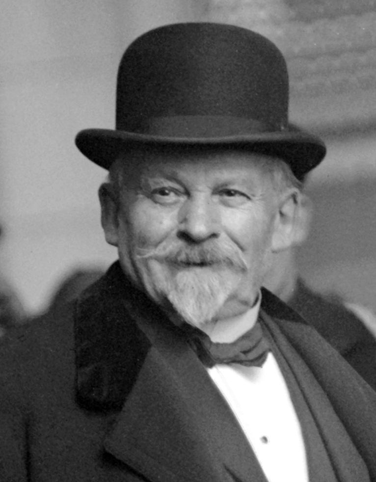 A photograph of Emile Coué