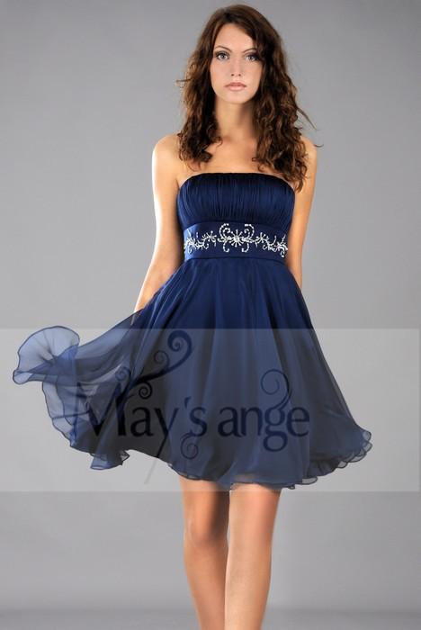 may 39 s ange le blog quels accessoires porter avec une robe de cocktail bleue. Black Bedroom Furniture Sets. Home Design Ideas