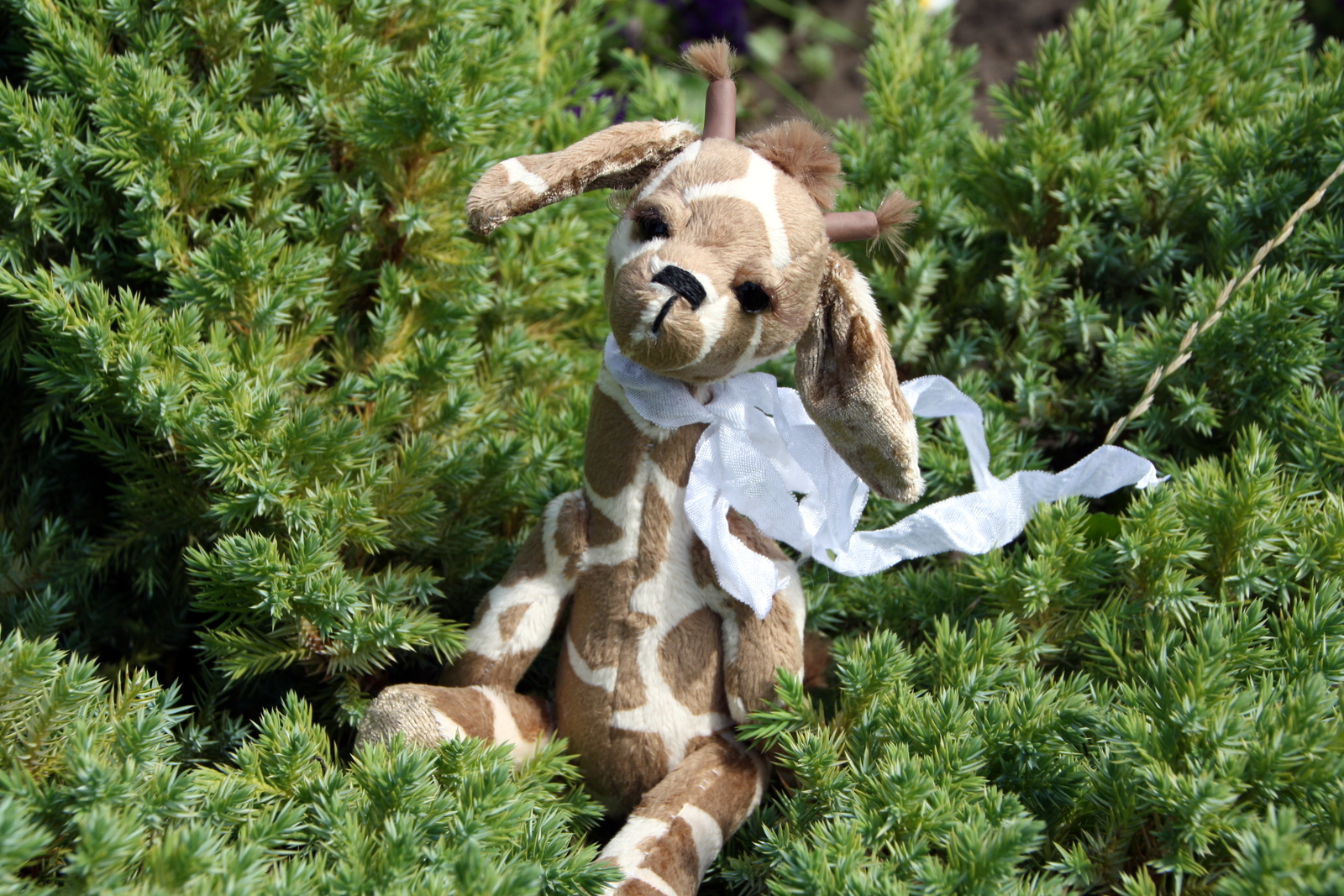 игрушка жирафик ручная работа