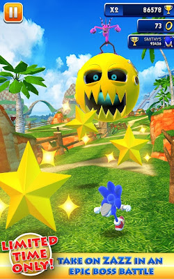 Sonic Dash 1.12 Apk Mod Full Version Unlimited Stars Download-Androler