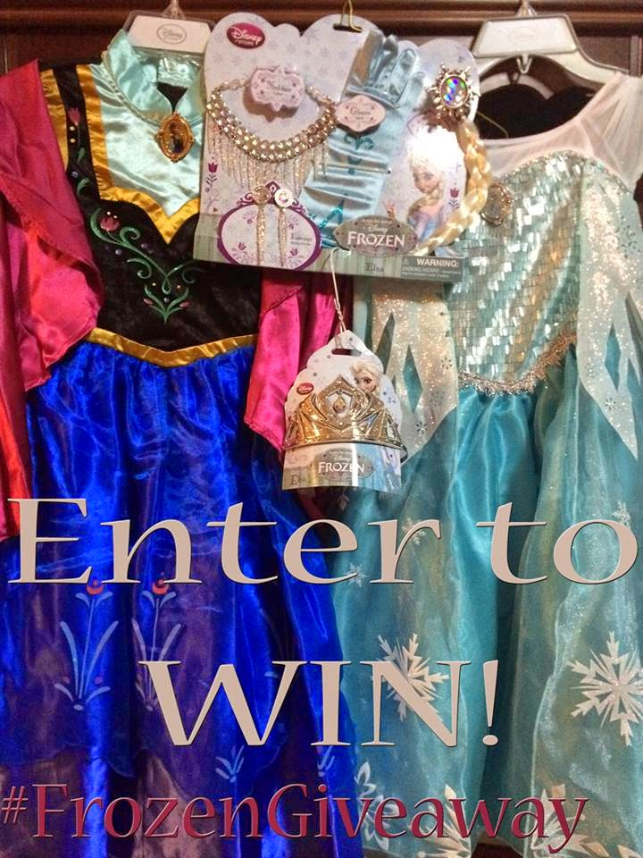 Enter Our Frozen Giveaway =)