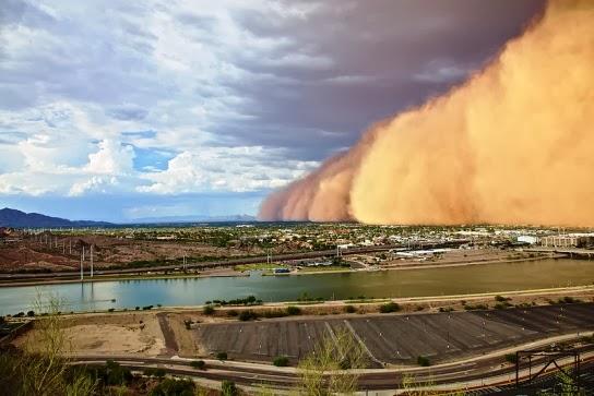 tormenta de arena sandstorm