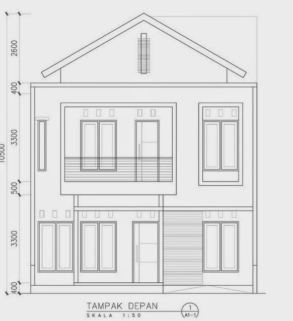 Desain Rumah Minimalis Tambak Depan Terbaru 2015