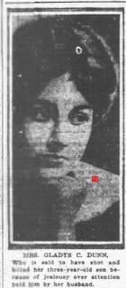 Gladys Courvoisier Dunn c. 1918