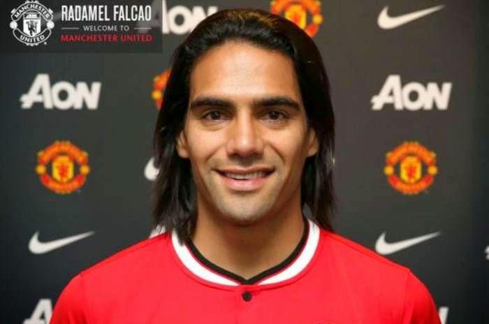 Radamel Falcao Resmi Gabung Manchester United