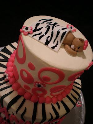 sweet treats by jennifer yeomans christy llc zebra baby shower cake