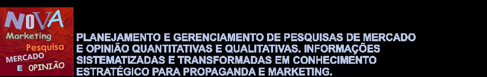 NOVA MARKETING PESQUISA MERCADO E OPINIÃO