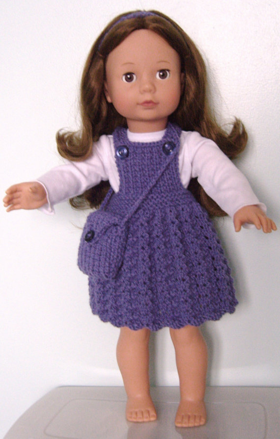 Easy Knitting Patterns For American Girl Dolls : Karen Mom of Threes Craft Blog: Knitting the Old Scotish ...