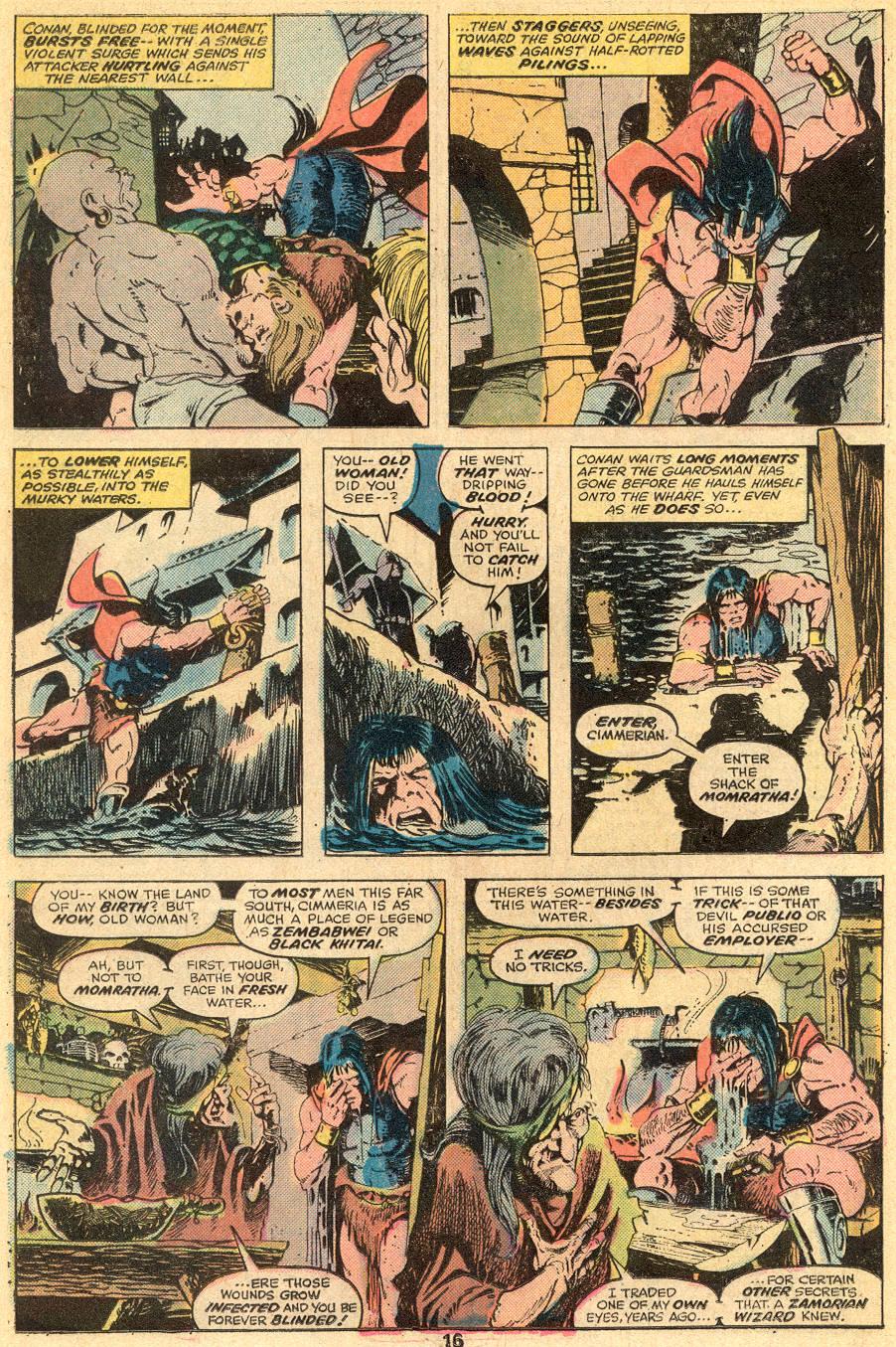Conan the Barbarian (1970) Issue #57 #69 - English 11