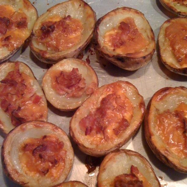 Cocina r pida sencilla y buena potato skins conchas de for Cocina rapida y sencilla