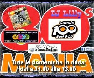 '80's Mania' con Dj Lilly - Trasmissione Radio