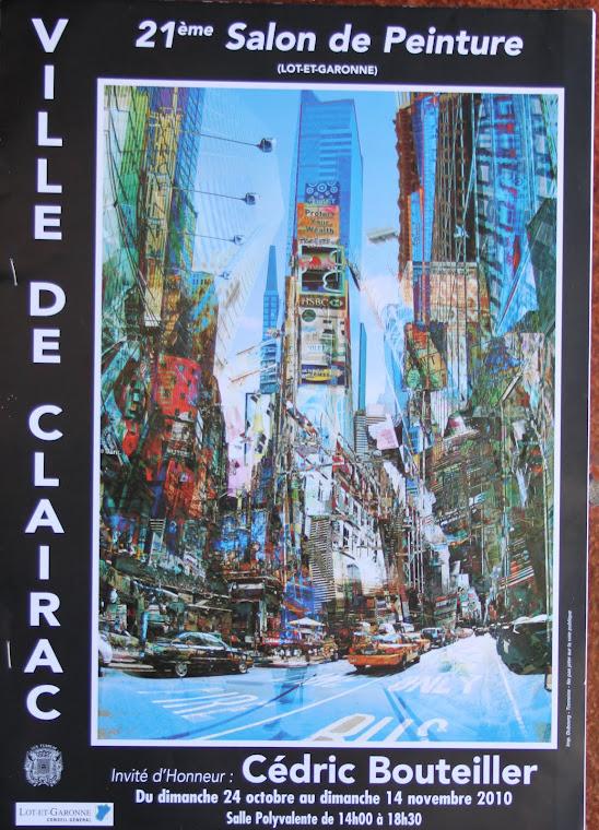 XXI Salon de pinture. Ville de Clairac. The Littler Gallery- Francia