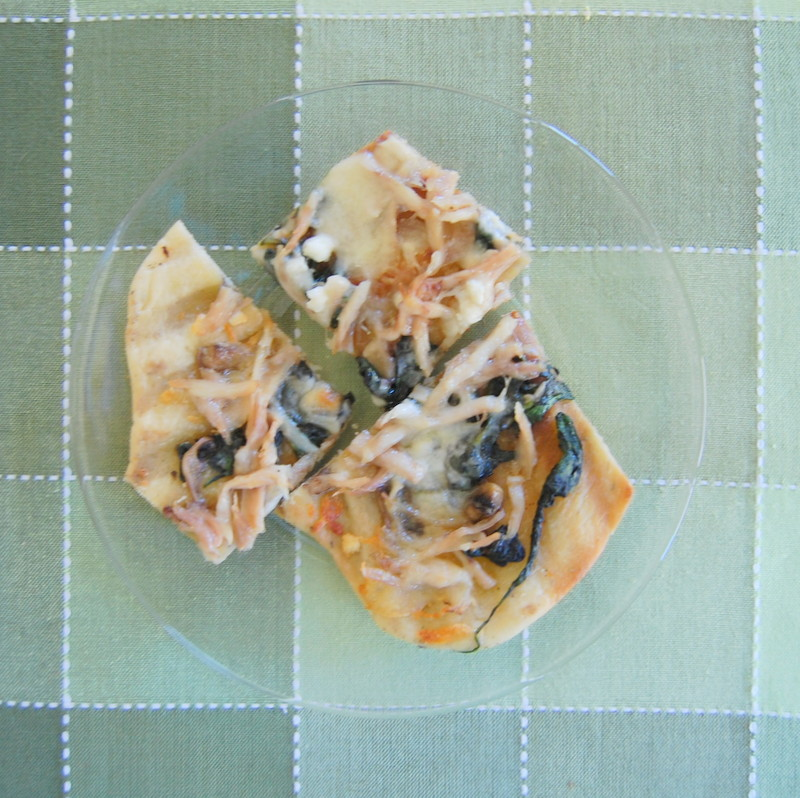 Grilled Spinach Feta Chicken Pizza 365 Days Of Baking