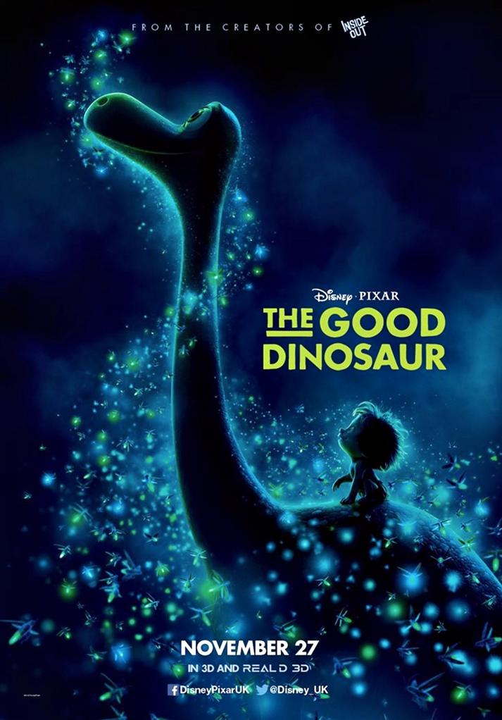 Póster: El viaje de Arlo (The Good Dinosaur, Peter Sohn, EE.UU, 2015).