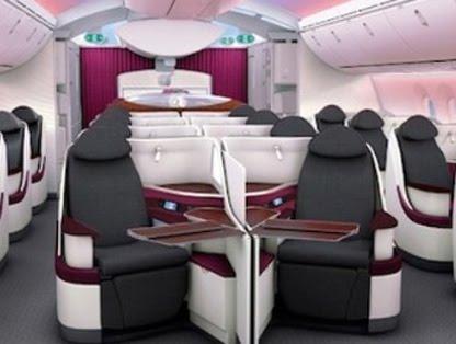Voyages bergeron qatar airways d voile les si ges de son for Interieur qatar airways