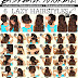 6 Easy Lazy Hairstyles | How to 5 Minute Everyday Hairstyles