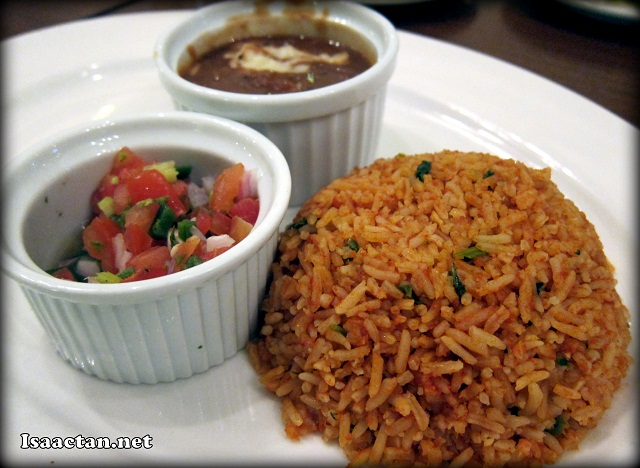 Mexican Rice at Frontera Sol Of Mexico Jaya One