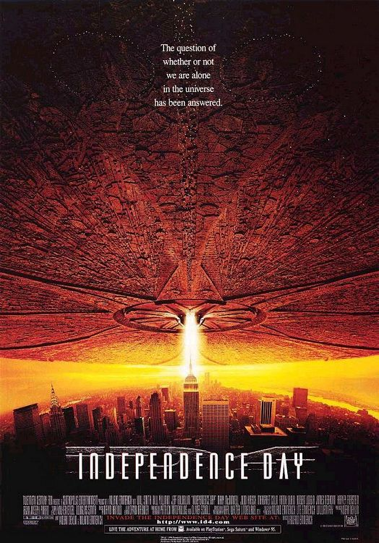 DVD Challenge #15: INDEPENDENCE DAY