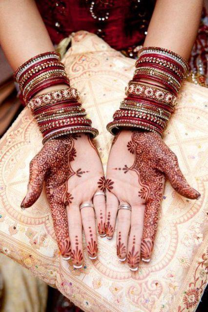 Beautiful Pakistani Eid Hand Mehndi Designs 2012  Pk