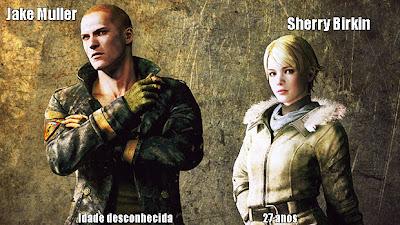 Jake Muller e Sherry Birkin, uma nova geração de Resident Evil (Foto: Reprodução: Rafael Monteiro)