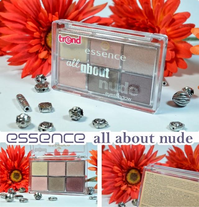essence Neuheiten Frühjahr 2014 All About NUDE Eyeshadow Palette