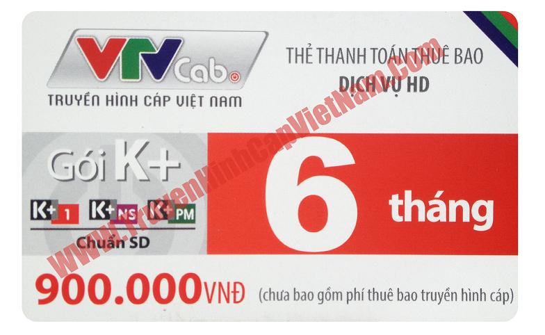 Thẻ cào VTVcab