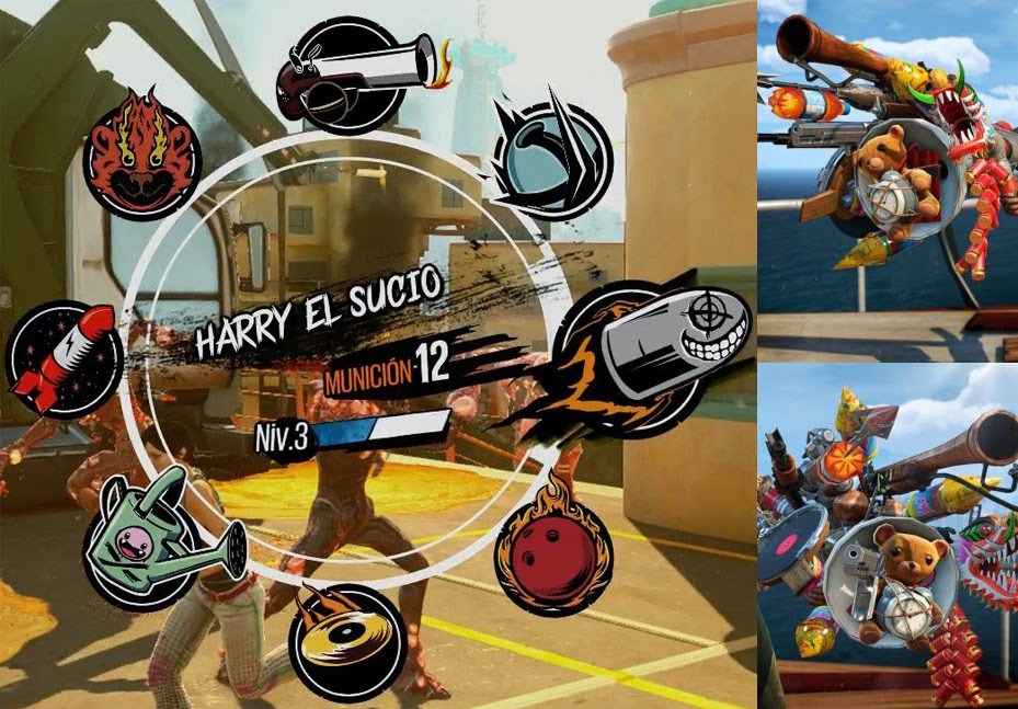 sunset overdrive armas